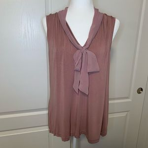Kenneth Cole sleeveless Blouse. Rose. XL.